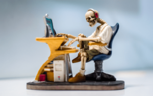 Skeleton coding